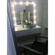 Туалетный столик с зеркалом и освещением М-12