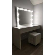 Туалетный столик с зеркалом и освещением М-13