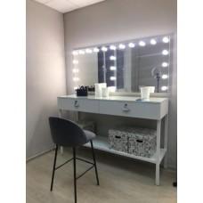 Туалетный столик с зеркалом и освещением М-8