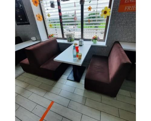 Мягкая мебель для кафе, баров и салона красоты М-8