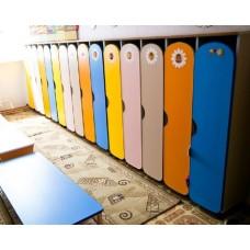 Шкафы для раздевалок для детского сада М-13