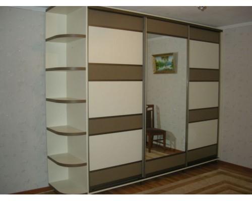 Шкаф-купе с 3 дверями Ария М-65