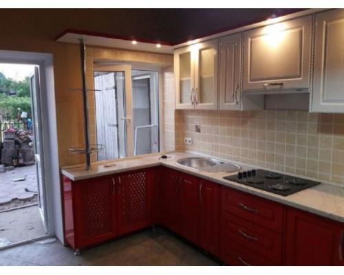 Кухня угловая , фасады МДФ Модель M-52