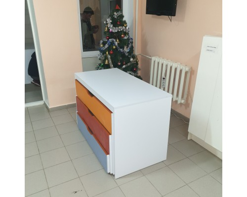 Кровать выкатная 3х ярусная М-2