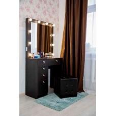 Туалетный столик с зеркалом и освещением М-14