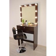 Туалетный столик с зеркалом и освещением М-16