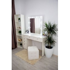 Туалетный столик с зеркалом и освещением М-17