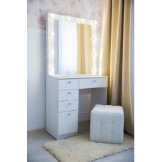Туалетный столик с зеркалом и освещением М-18