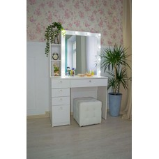 Туалетный столик с зеркалом и освещением М-20