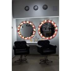 Зеркало c освещением М-8