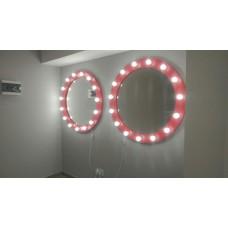 Зеркало c освещением М-9