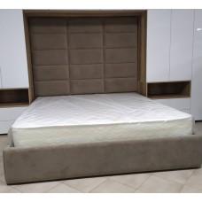 Pat dormitor 2 persoane tapitat  M-18